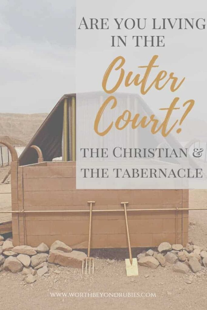 The Christian and the Outer Court of the Tabernacle of Moses