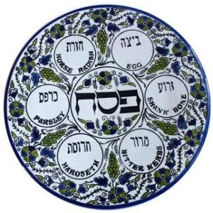 Passover Seder Plate from Walmart