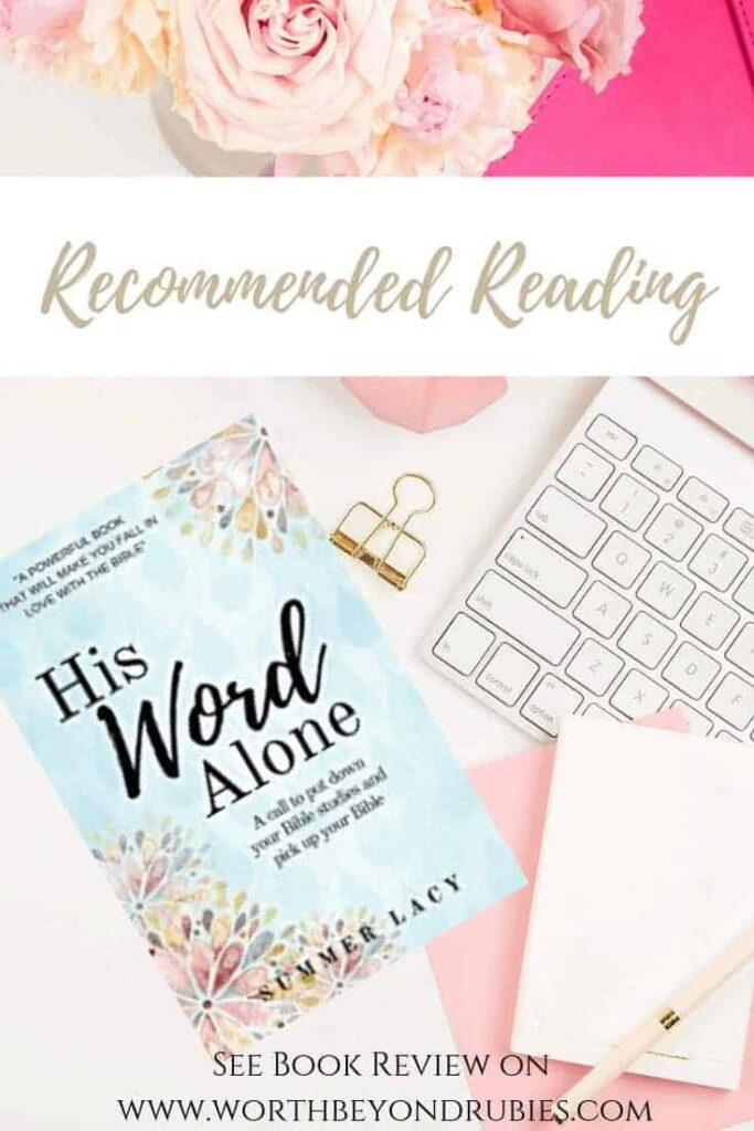 His Word Alone Book Review