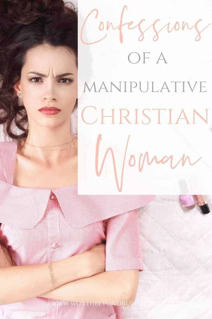 Manipulative Person - A woman in pink with long brown hair lying on a bed with her arms crossed looking annoyed