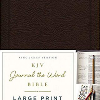 Large Print Bibles for the Visually Impaired - With Bible Journaling Tips! 3
