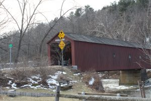 Finding God in All Things - Picture of Cornwall Covered Bridge