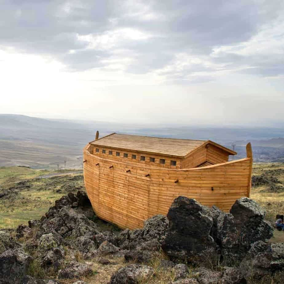 An image of Noah's ark - where is God