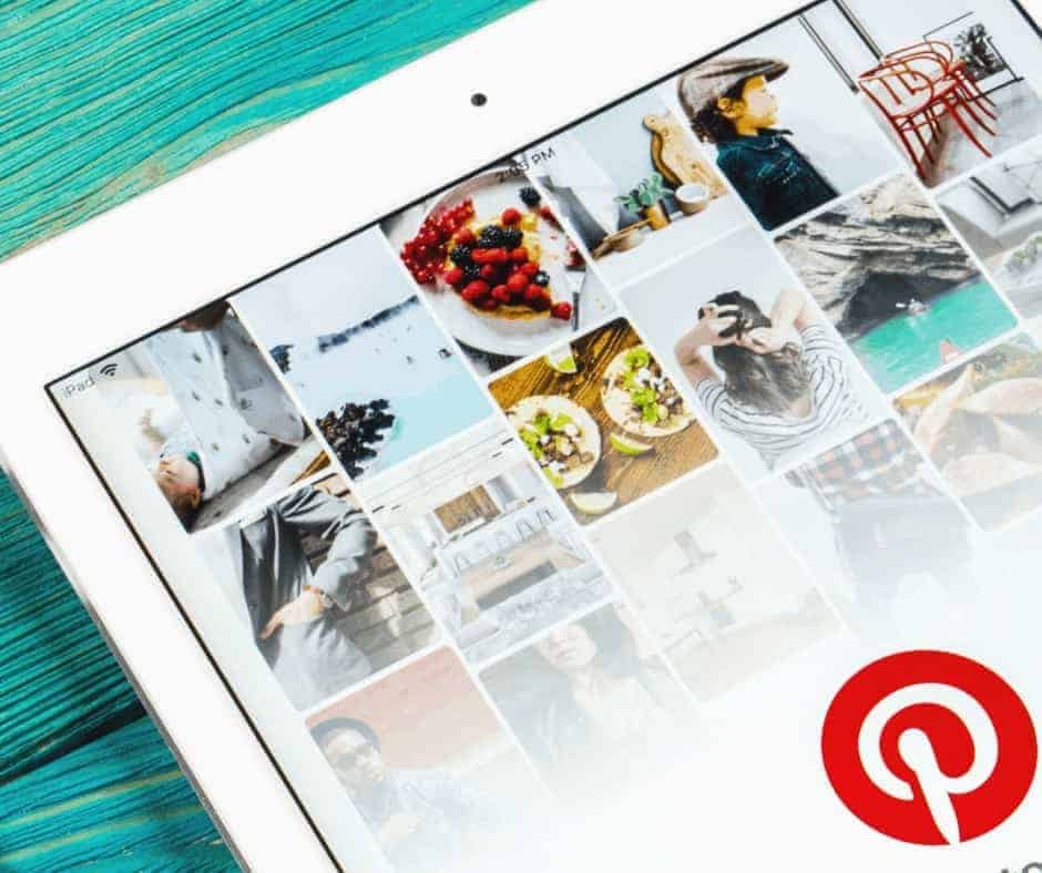 Tailwind Tribes - An ipad open to pinterest
