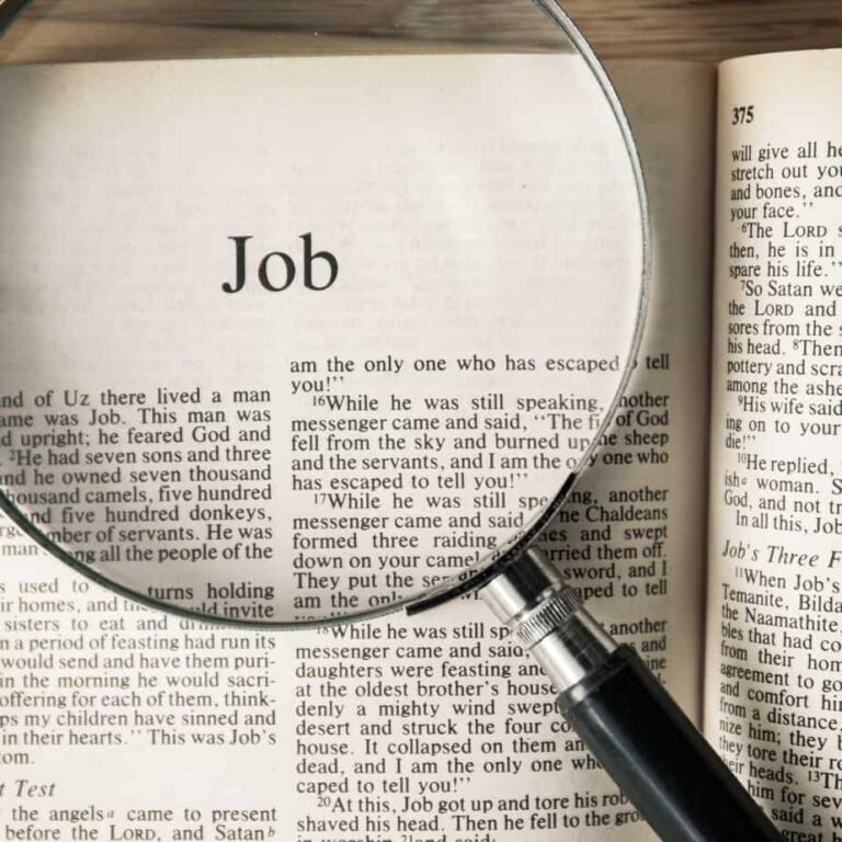 """The Book of Job in the Bible – The """"Unshakable"""" Faith of Job in His Redeemer"""