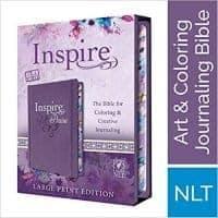 NLT Inspire PRAISE Journaling Bible