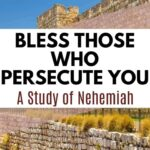 An image of a wall in in Jerusalem - Bless Those Who Persecute You - A Study of Nehemiah
