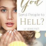 Why does God send people to hell? A nervous looking woman with her jaw dropped looking shocked
