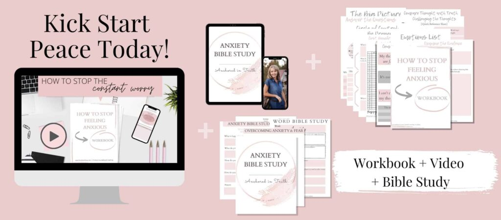 Sunshyne Gray - How to Stop Feeling Anxious (Workbook and Video)