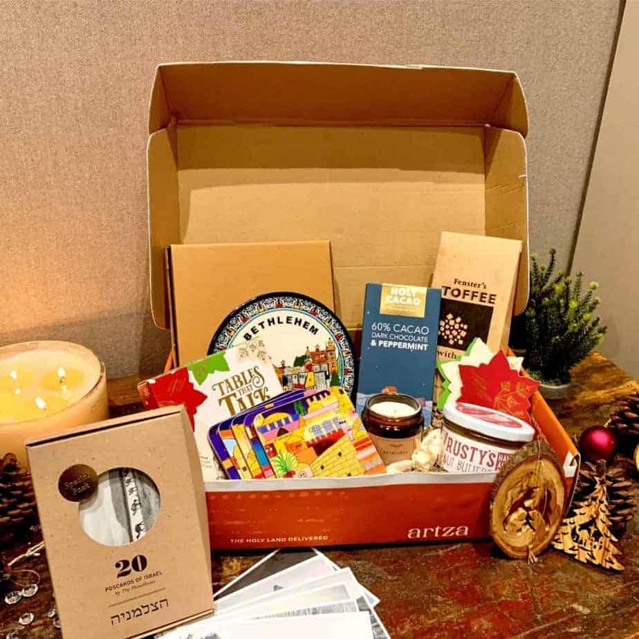 An image of the Artza Box Bethlehem subscription box