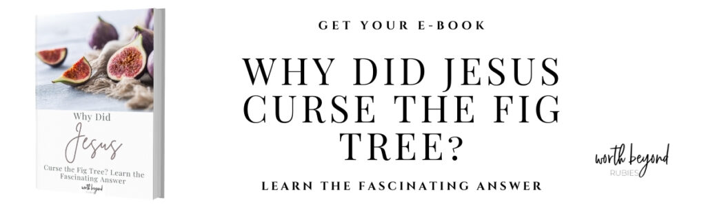 Why Did Jesus Curse the Fig Tree Ebook Sales Banner