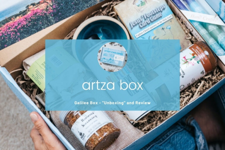 Artza Box Unboxing and Review – Galilee and Bethlehem Boxes