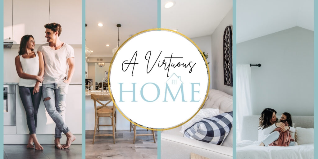 A Virtuous Home Course with images of homes