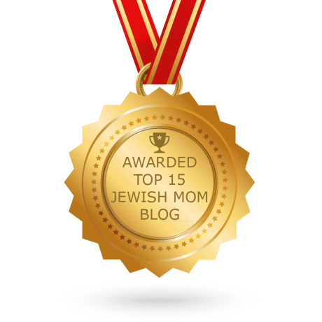Awarded Top 15 Jewish Mom Blog